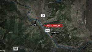 Plains fatal motorcycle crash
