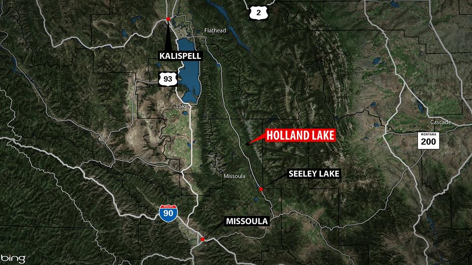 Holland Lake Map