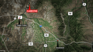 Clarkston Wildfire Map