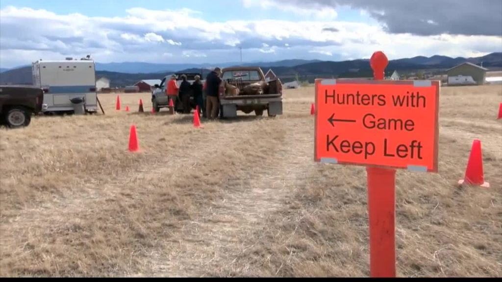 Montana Hunting Check Station