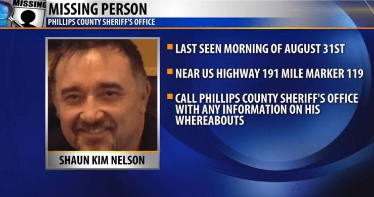 Missing Person Shaun Kim Nelson