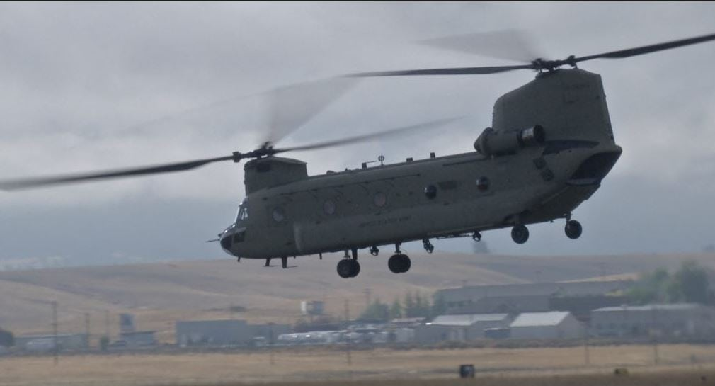 Montana National Guard Helicopter