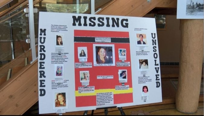 Advocates: Missing and murdered indigenous women a crisis in MT