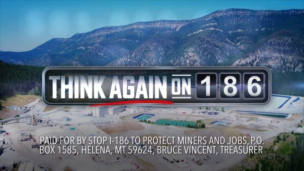 Anti-I-186 Ad