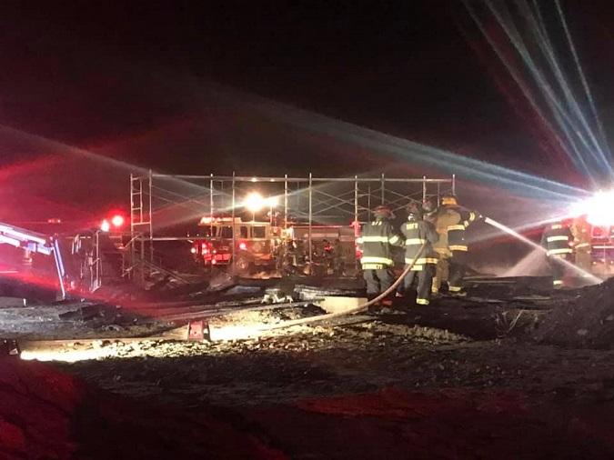 Stevensville House Fire