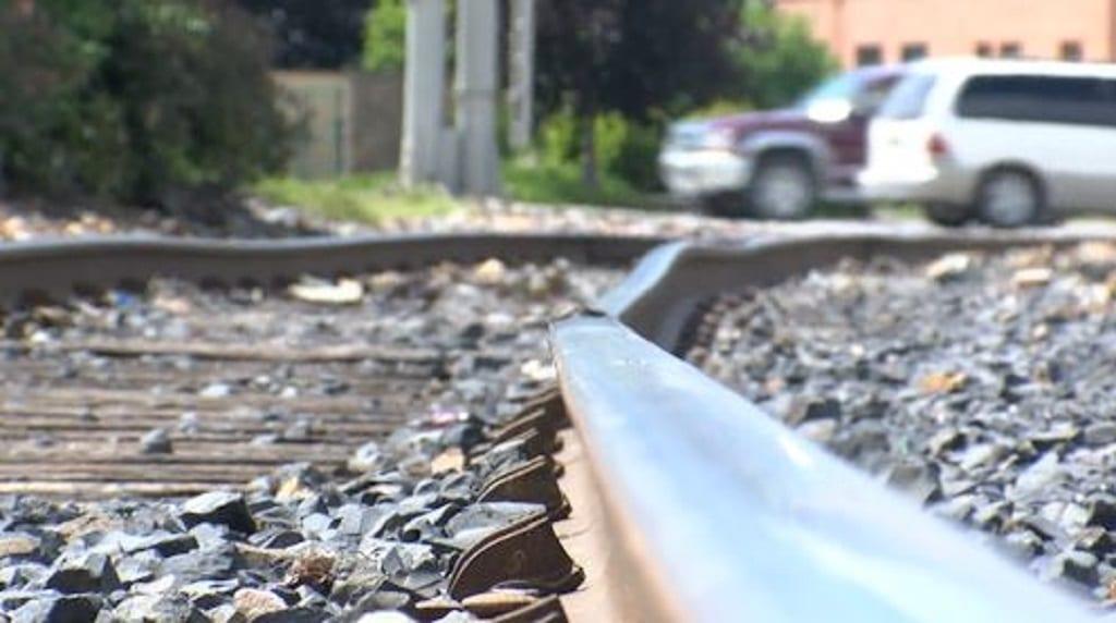 Kalispell Trail Railroad Tracks