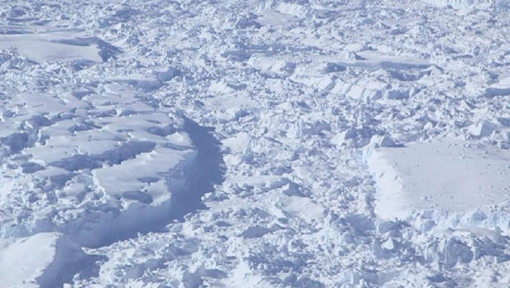 Antarctica Operation Icebridge NASA