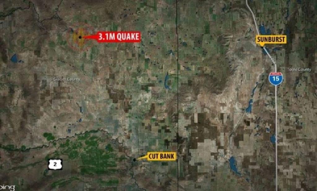 Glacier County Earthquake