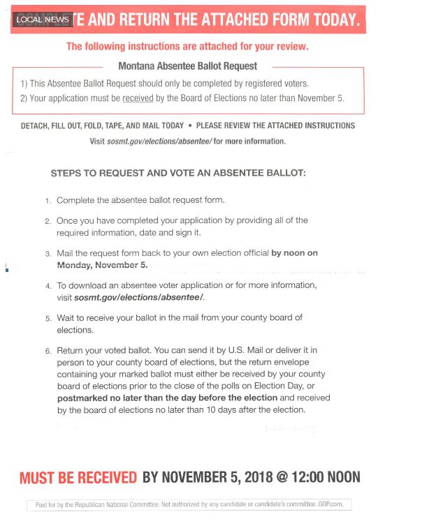 Incorrect Mailer
