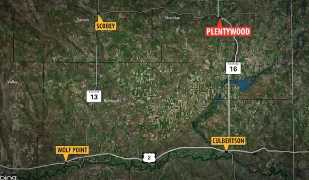 Plentywood Map