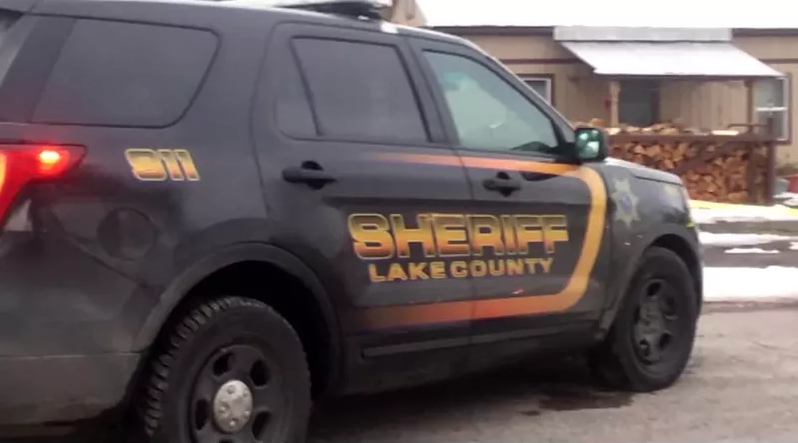 Lake County Sheriff deputy vehicle