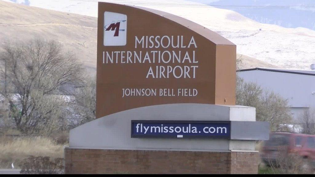 Missoula International Airport Sign
