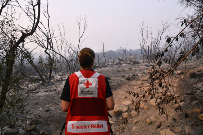 Montana Red Cross California Fires