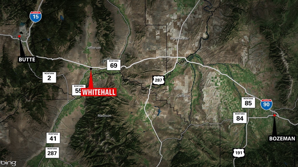 Woman killed in crash near Whitehall