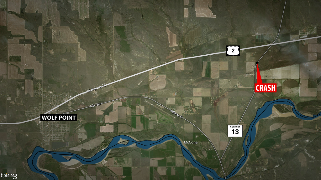 Wolf Point Fatal Accident Map