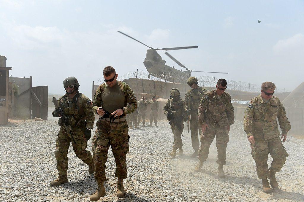 US Afghanistan War