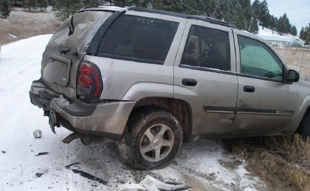 MHP Hit Vehicle Kalispell