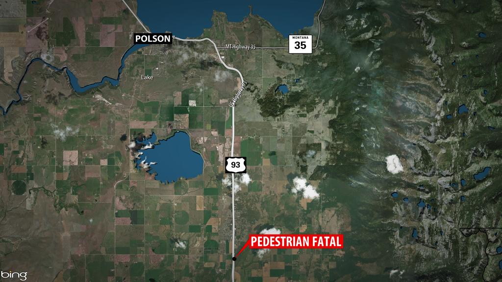 Polson Pedestrian Fatal