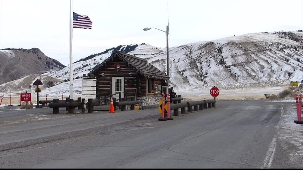 Yellowstone National Park North Gate