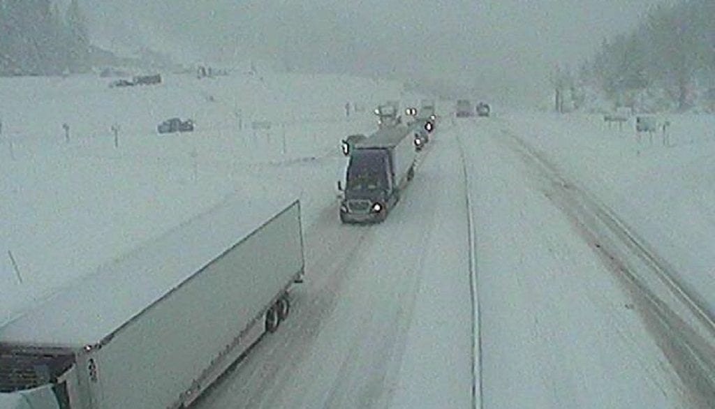 Lookout Pass Traffic Delays