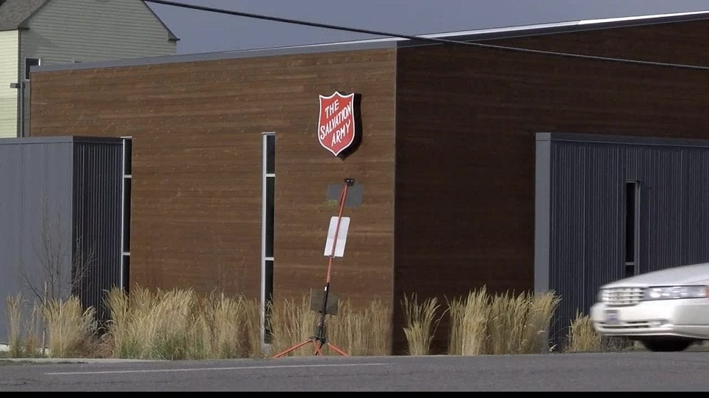 Salvation Army Warming Shelter