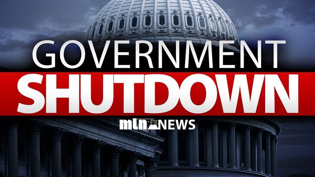 Government Shutdown Web