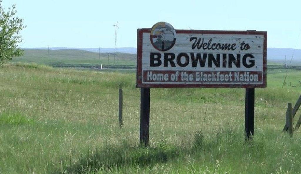 Browning Blackfeet Tribe