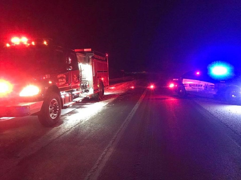 I-90 Nine Mile Crash
