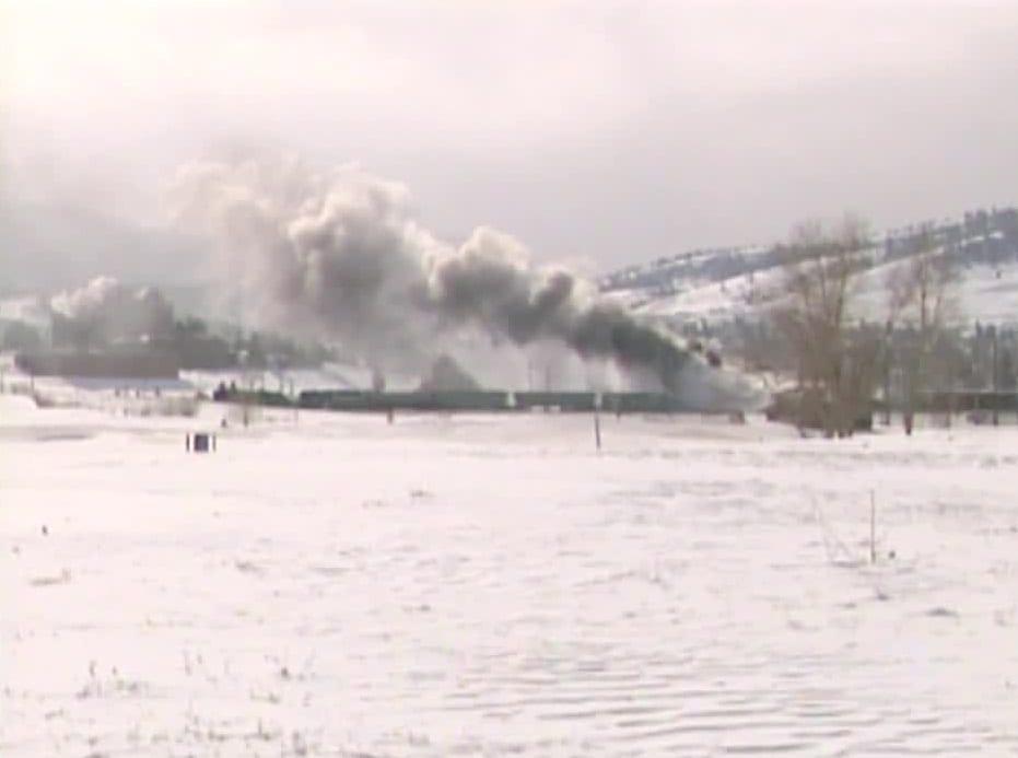 Helena Train Explosion