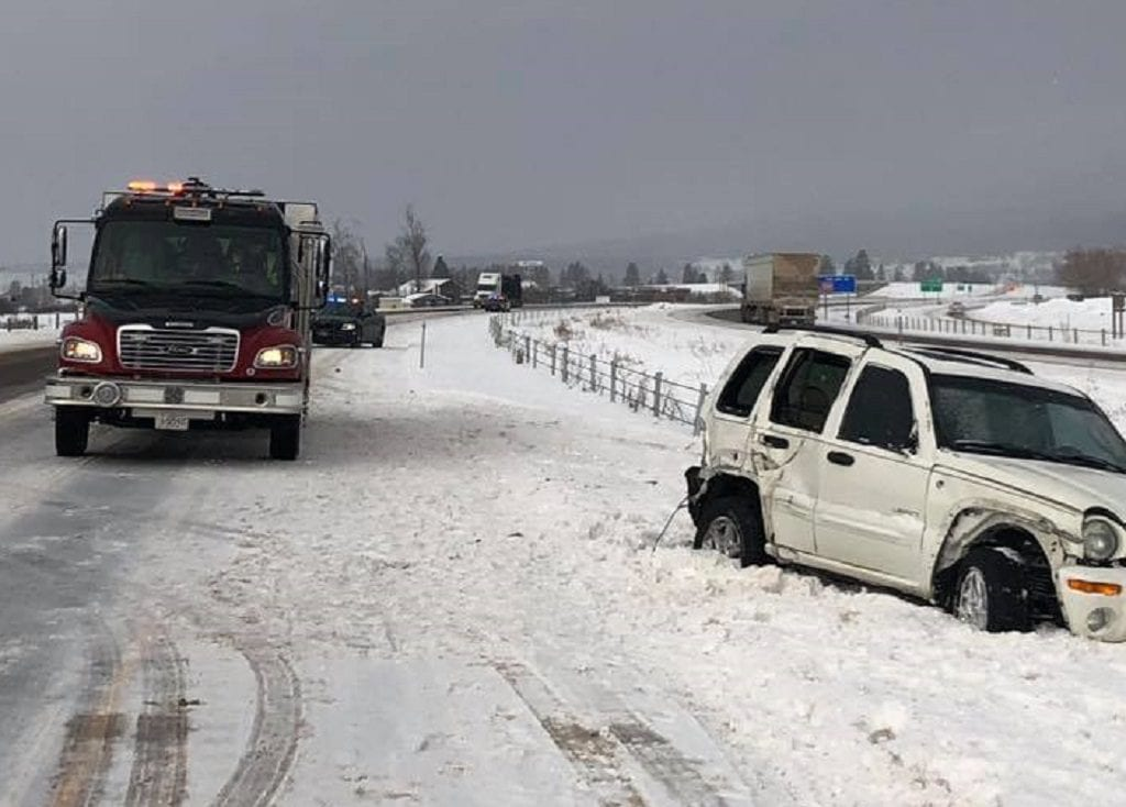 I 90 Frenchtown Accident
