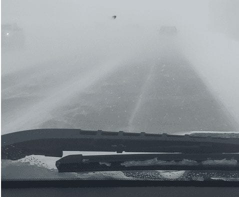 Winter weather causing crashes, road closures in Western Montana