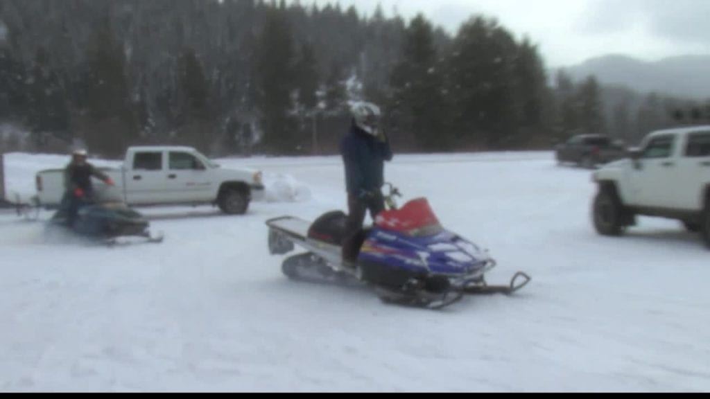Lolo Hot Springs Snowmobile