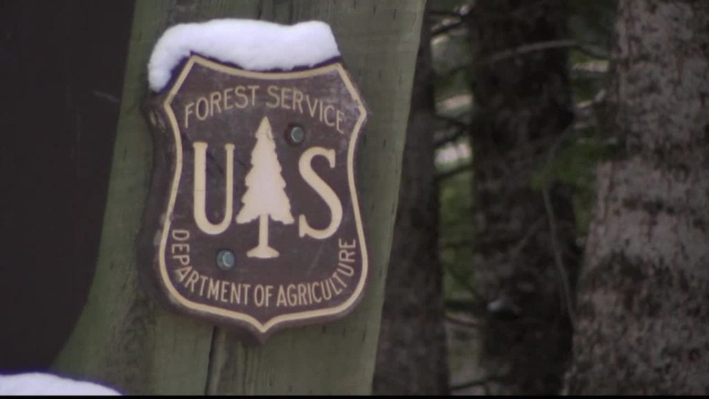 USFS Sign