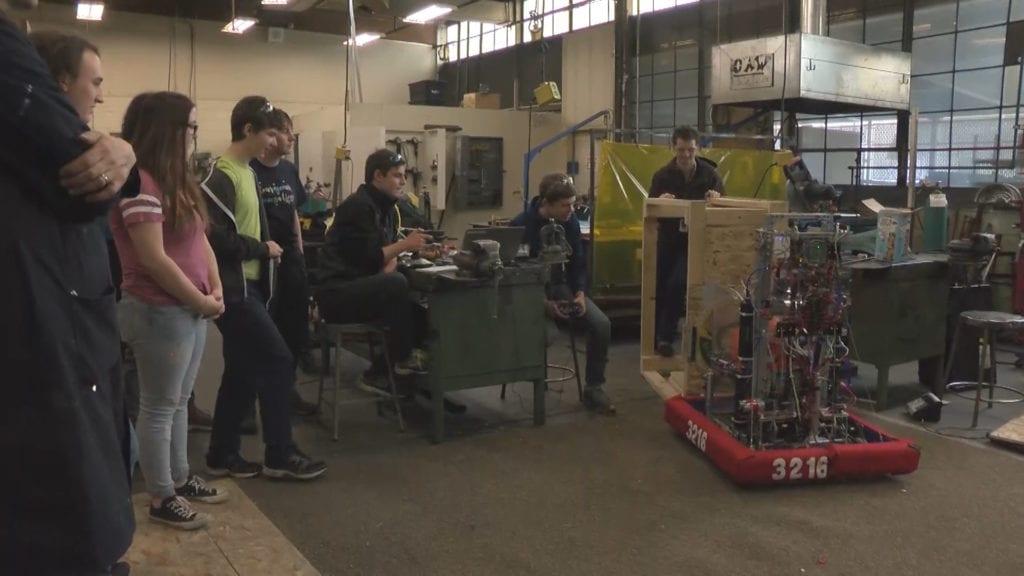 Missoula Robotics Team 3216