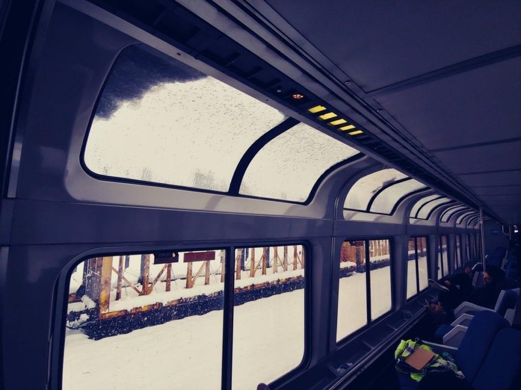 Amtrak train stranded since Sunday