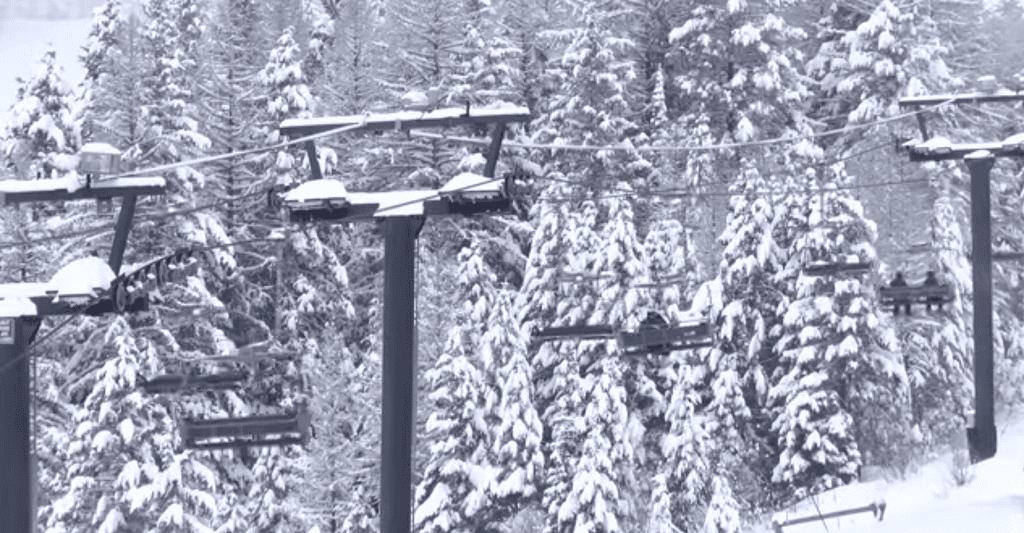 Whitefish Mountain Resort Ski Lift