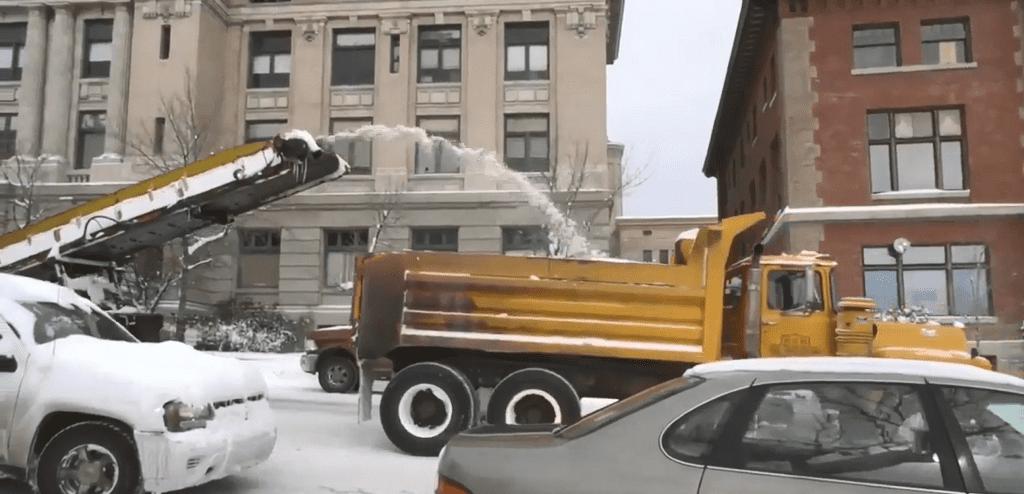 Butte Snow Plowing