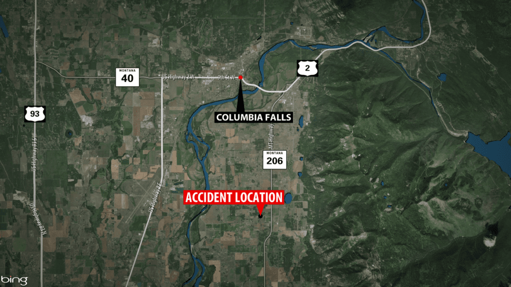 Martin City man dies after crash near Columbia Falls