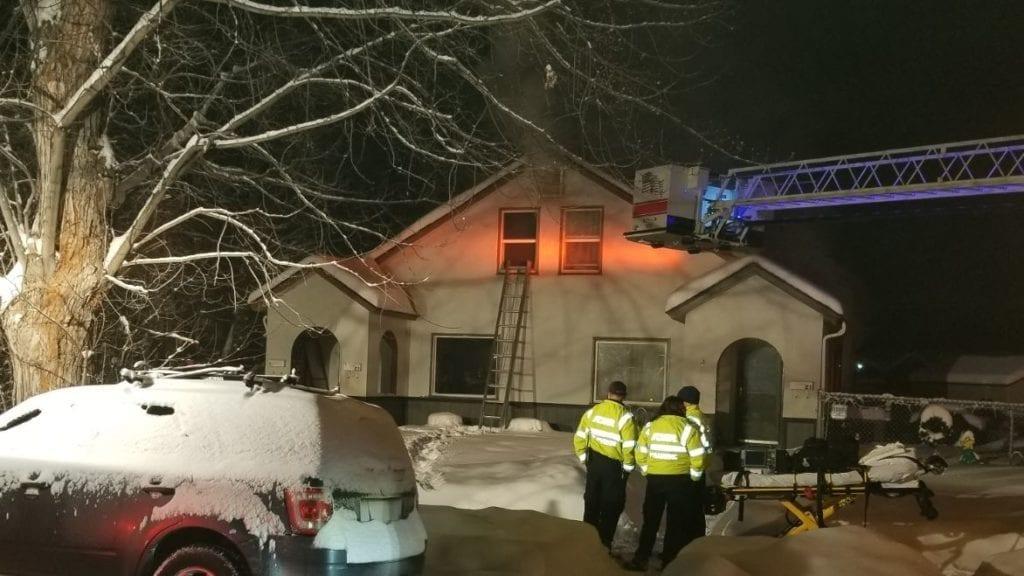 Billings Duplex Fire
