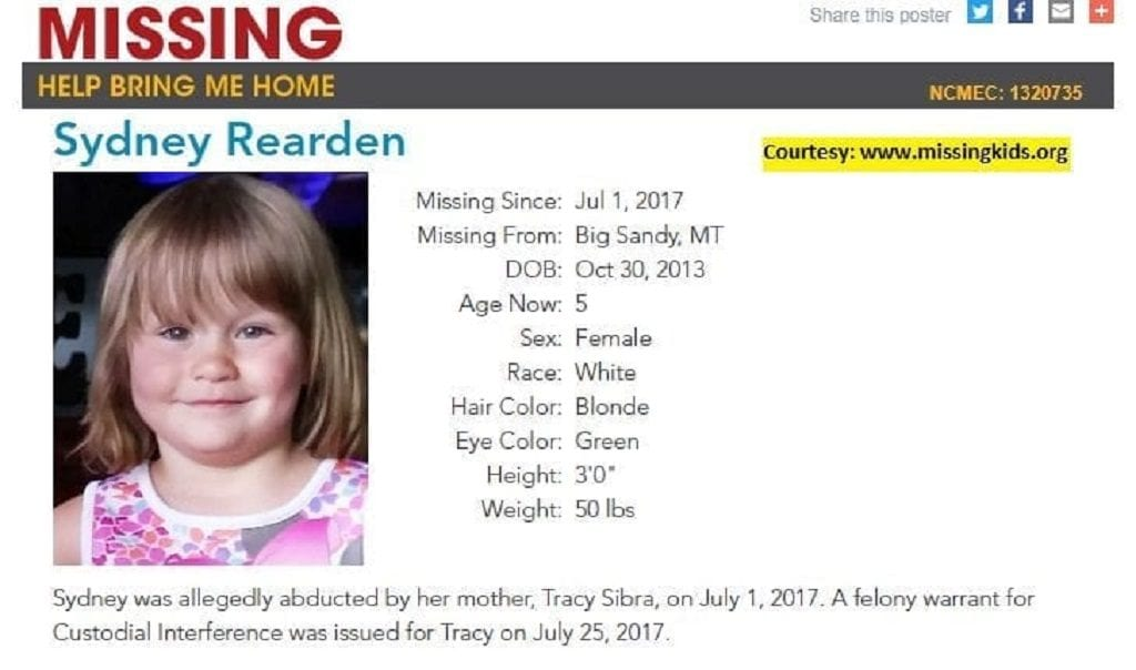 Missing MT Girl Found in PA
