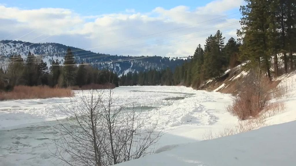 Snow and Ice River