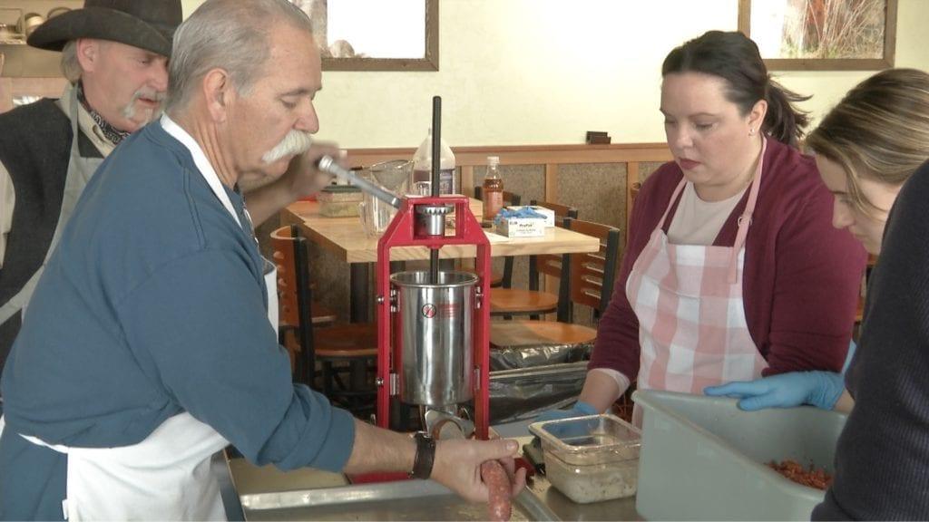 Helena Sausage Making Class