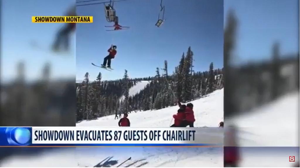 Showdown Ski Lift Rescue