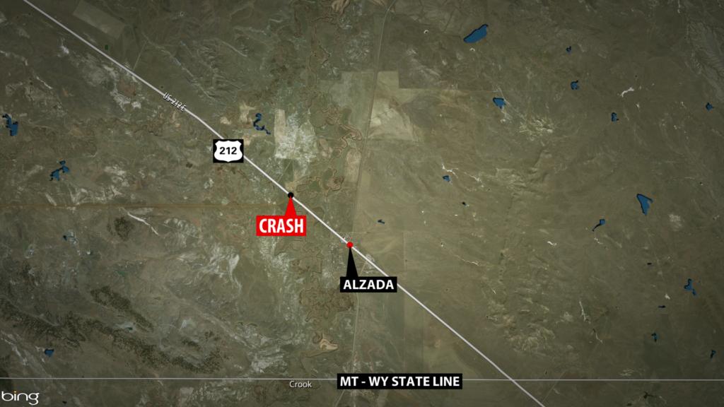 Alzada Fatal Accident Map