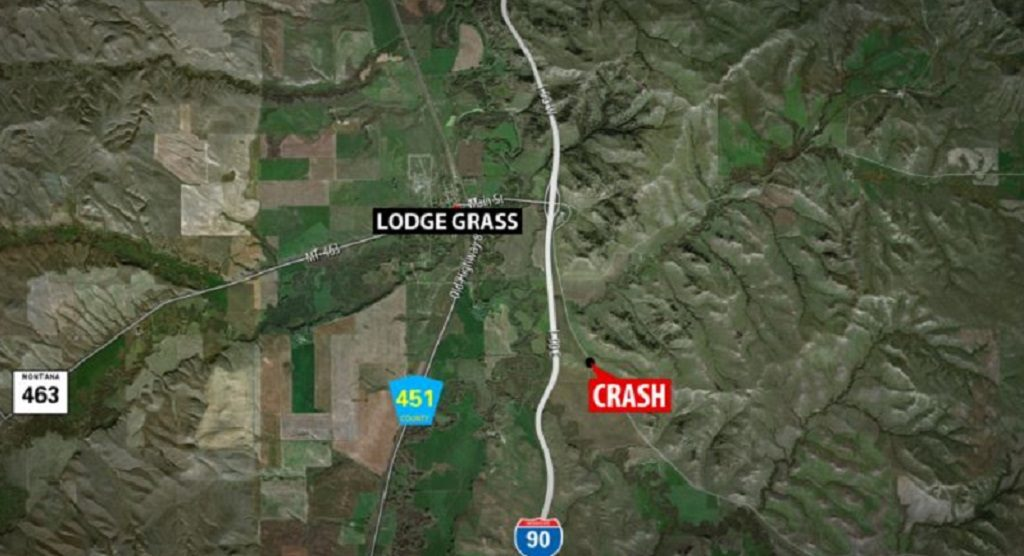Lodge Grass Fatal Crash Map