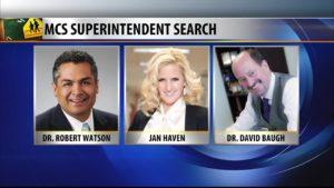 MCPS Superintendent Candidates