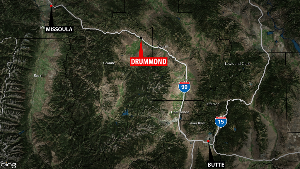 Drummond Fatal Accident Map