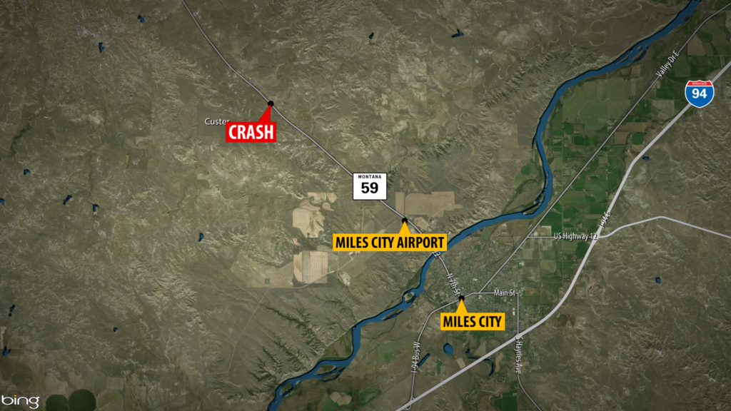 Miles City Fatal Crash Map