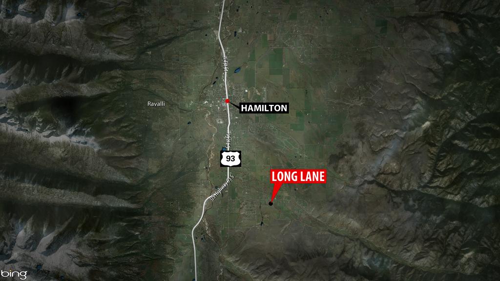Hamilton ATV Fatal Crash Map