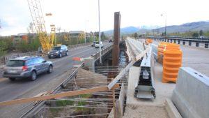 Russell Street Bridge Construction